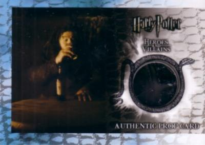 Harry Potter Heroes & Villains prop card (bottle from Hagrid's Hut) P9 #135/210 MINT