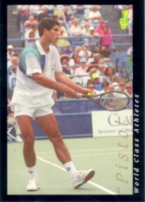 Pete Sampras 1992 Classic World Class Athletes card #59