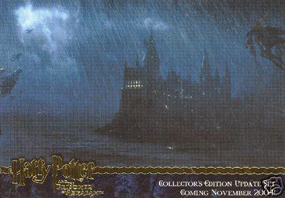 Harry Potter and the Prisoner of Azkaban Update GOLD FOIL promo card 1