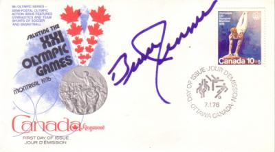 Bruce Jenner autographed 1976 Montreal Olympics First Day Cover
