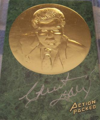 Chuck Daly certified autograph Action Packed Hall of Fame card
