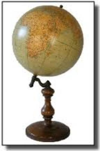 Antiques; A Handsome 1930 Rand McNally Globe map