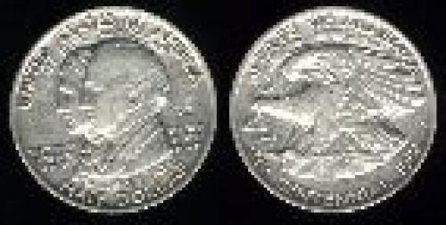 50 cents; Year: 1921; Alabama Centennial