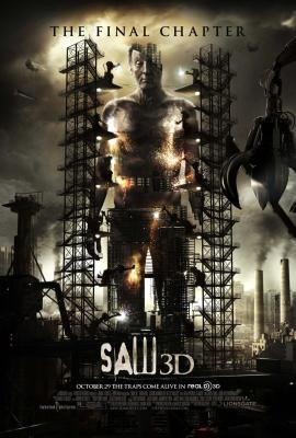 Saw 3D mini movie poster