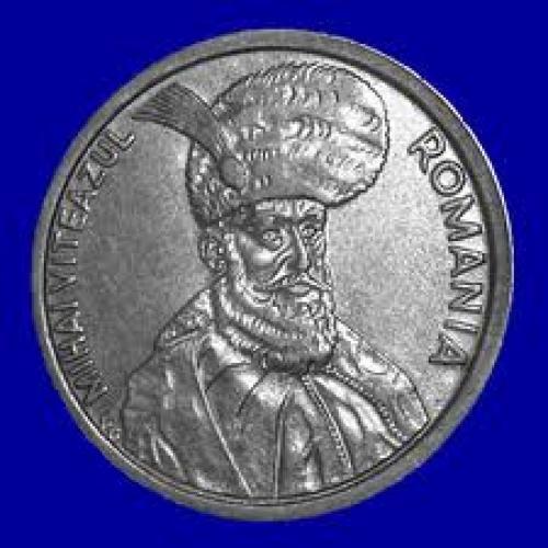 Coins; Romanian Coin 100 lei, Head. 1992