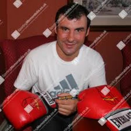 Boxing Memorabilia; Joe Calzaghe
