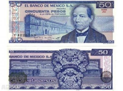 Mexico-50-1981 Pesos