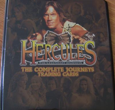Kevin Sorbo autographed Hercules album or binder