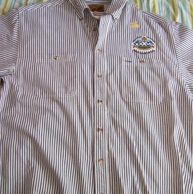 Super Bowl 37 short sleeve dressy casual shirt by Port Authority