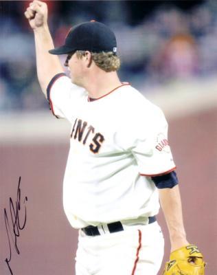 Matt Cain autographed San Francisco Giants 8x10 photo