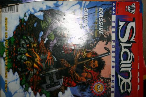2000AD Slaine The Poster Prog No. 1
