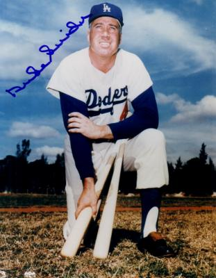 Duke Snider autographed Los Angeles Dodgers 8x10 photo