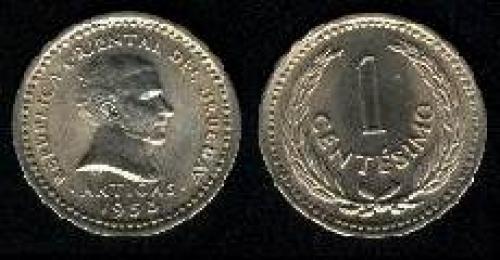 1 centesimo 1953 (km 32)