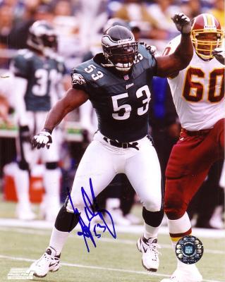Hugh Douglas autographed 8x10 Philadelphia Eagles photo