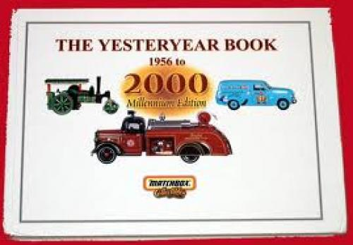 Cars: THE YESTERYEAR BOOK 1956 to 2000