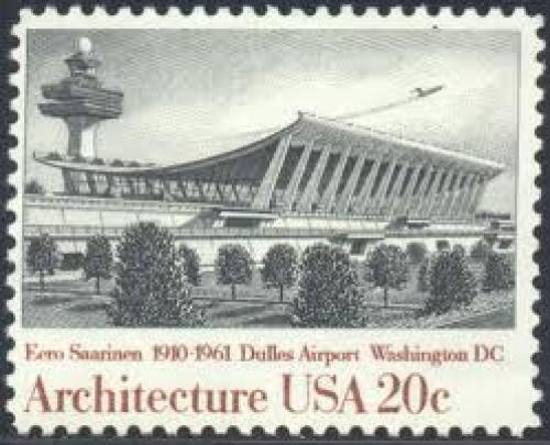 Stamps; USA Washington DC Dulles Intl Airport