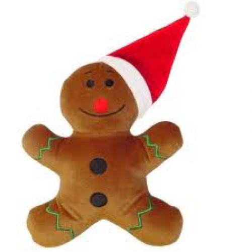 Christmas Toy; Ginger Bread Santa