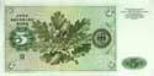 Germany,  Federal   Republic; 5 Deutsche Mark; Issue of 1980