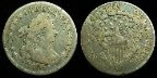 10 cents; Year: 1798-1807; Draped Bust