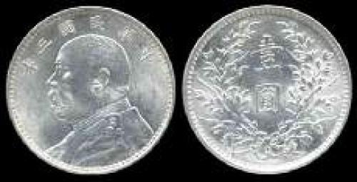 1 dollar; Year: 1914-1921; (km y#329)