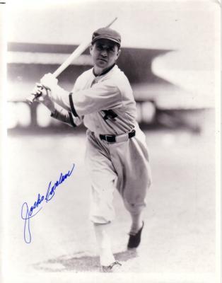 Jocko Conlan autographed 8x10 White Sox photo