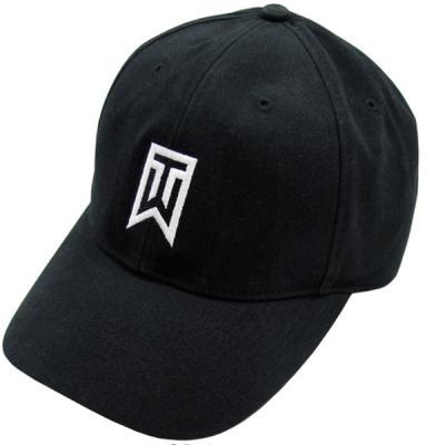 Tiger Woods Nike TW logo black golf cap or hat NEW