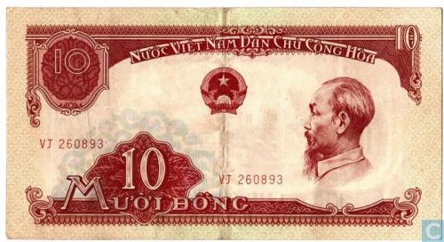 10 dong Viet Nam 1958