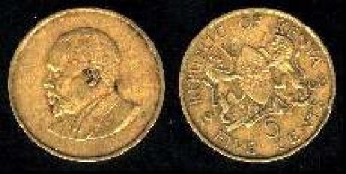 5 cents 1966-1968 (km 1)