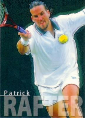 Patrick Rafter 2000 ATP Tour card RARE