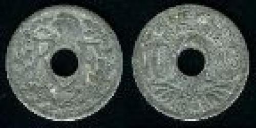 10 centimes; Year: 1941; (km 897); zinc