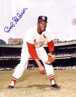 Bob Gibson autographed 8x10 St. Louis Cardinals photo