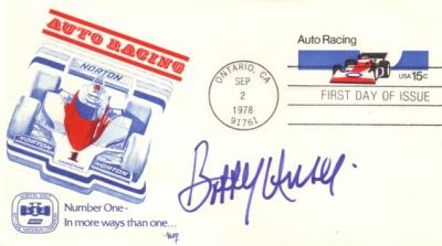 Bobby Unser autographed Auto Racing First Day Cover