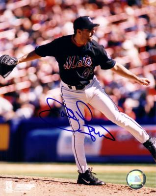John Franco autographed 8x10 New York Mets photo