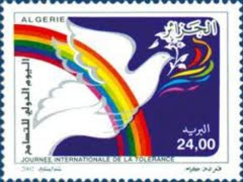 International Day of Tolerance - Algerian Stamps