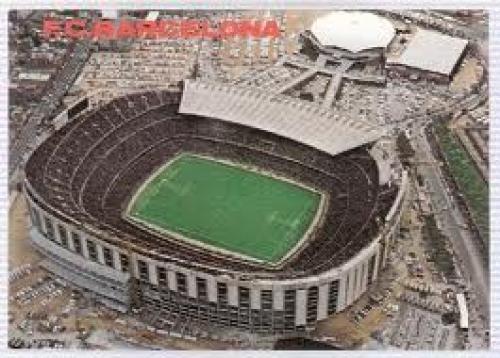 Spain Estadi F.C. Barcelona #0187 Stadium Postcard Spain - Barcelona