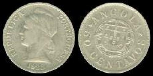50 centavos; Year: 1922-1923; (km 65)