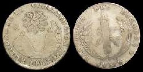 4 reales 1841-1843 (km 24)