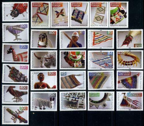 Handicrafts, definitives 27v