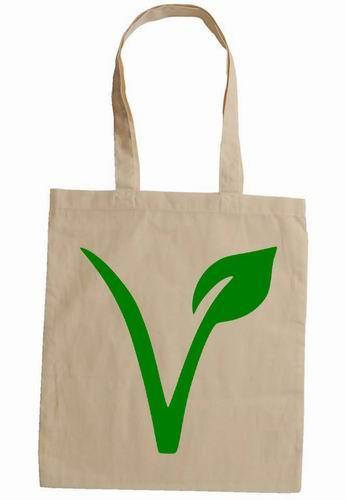100% Organic Cotton Shopping Bag/ Grocery Bag/ Tote Bags