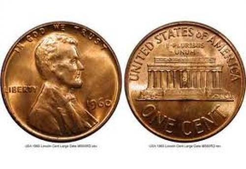 Coins; USA 1 cent; Year:1960 ;Lincoln Cent