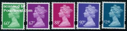 Definitives (Machin) 5v