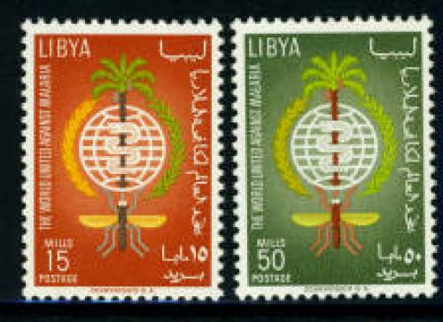 Anti malaria 2v; Year: 1962