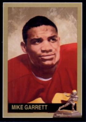 Mike Garrett USC Heisman Trophy winner card