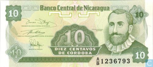 Nicaragua 10 centavo
