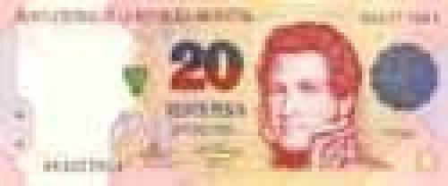 20 Pesos; Issue of 1992 (Pesos)