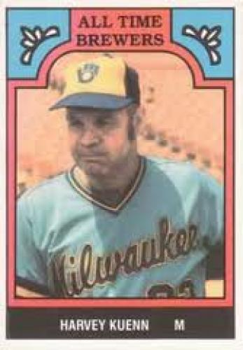 1986 TCMA All Time Brewers (#12 Harvey Kuenn); Baseball Card
