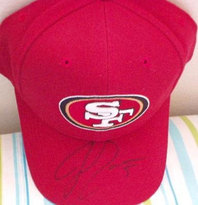 Jeff Garcia autographed San Francisco 49ers cap