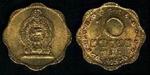 10 cents 1975 (km 140); nickel brass