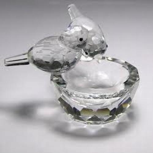 Decorative; Crystal Figurine