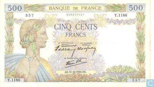France 500 Francs